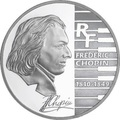 Франция 1,5 евро 2005. Фредерик Шопен – 195 лет со дня рождения.Арт.000628744305