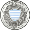 Франция 10 евро 2011. Регби - Расинг Метро 92 (Racing Metro 92) – серия «Великие спортивные клубы»