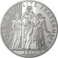Франция 100 евро 2011. Геракл – серия «Геркулес».Арт.000519734925
