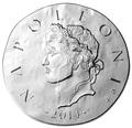 Франция 10 евро 2014. Король Наполеон I – серия 1500 лет Французской истории.Арт.000100048495