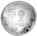 Франция 10 евро 2014. Футбол – ФИФА 2014 – Чемпионат мира в Бразилии.Арт.000100048519