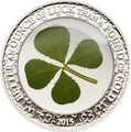 Палау 5 долларов 2015 Клевер – Унция удачи (Palau 5$ 2015 Ounce of Luck 4-leaf clover).Арт.000256848898/60