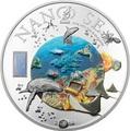 Острова Кука 10 долларов 2014.Нанотехнологии – 2014.Море.Арт.000100048297