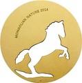 Монголия 500 тугриков 2014.Лошадь.Арт.000284848579