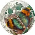 Центрально-Африканская Республика 1000 франков 2014.Бабочка 3D – «Золотистый лесничий».Арт.000236848398