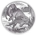 Австрия 20 евро 2014 Залмоксес и Струтиозавр – Меловой период серия «Доисторическая жизнь»(динозавры).Арт.000197848210/60