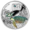 Ниуэ 1 доллар 2014.Черепаха-Логгерхед – серия Вымирающие виды животных.Арт.000301349091