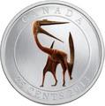 Канада 25 центов 2013.Динозавр – Кетцалькоатль серия Доисторические животные.Арт.000116048241