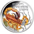 Тувалу 1 доллар 2014.Скорпион серия «Смертельные и опасные»Арт.000276948660