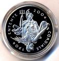 Великобритания 5 фунтов 2004 года.100 лет создания Антанты.Арт.000350049153