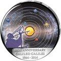 Конго Демократическая Республика 30 франков 2014.Космос - Галилео Галилей – 450 лет со дня рождения.Арт.000275347905