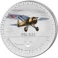 Бурунди 5000 франков 2014.Самолет - «PZL P.11» серия «История авиации».Арт.000147647935