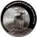 Монголия 500 тугриков 2003.Волк - Луна.Арт.000226050680/60