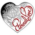 Австралия 5 долларов 2015.Вечная любовь – Сердце.Арт.000524449269/60
