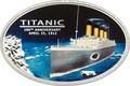 Острова Кука 5 долларов 2012.Корабль – Титаник.100 лет гибели.Арт.000268236347
