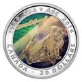 Канада 20 долларов 2014.25 лет Канадскому Космическому Агентству.3-D голограмма(космос).Арт.000527850382/60