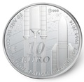 Франция 10 евро 2014.50 лет Европейского Космического Агентства (космос).Арт.000178848514