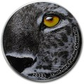 Конго (Народная Республика) 2000 франков 2013. «Амурский леопард»(Panthera pardus orientalis) серия «Глаза природы».