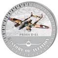 Бурунди 5000 франков 2015. Самолет - «Прага Е-51» серия «История авиации».