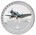 Бурунди 5000 франков 2015. Самолет - «Чанс-Воут F4U Корсар» серия «История авиации».
