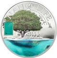 Острова Кука 10 долларов 2015.Нано Жизнь – Нанотехнологии.