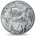 Великобритания 5 фунтов 2015.200 лет битвы при Ватерлоо.