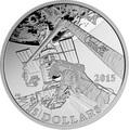 Канада 15 долларов 2015.Исследование космоса серия Изучая Канаду.