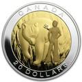 Канада 20 долларов 2014.Семь Священных Учений - Мужество-Медведь.Арт.000559749478/60