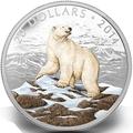 Канада 20 долларов 2014.Белый Медведь.Арт.000312945944/60