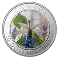Канада 10 долларов 2015.Стрекоза - Pygmy Snaketail (голограмма).Арт.000100050823/60