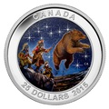Канада 25 долларов 2015.Звездная карта – Большая Медведица – Охотники и медведь.