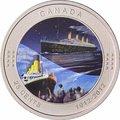 Канада 25 центов 2012.Титаник (Блистер).