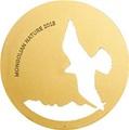 Монголия 500 тугриков 2015. Сокол – Балобан серия Монгольская природа (Силуэт).Арт.000438250225/60
