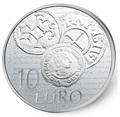 Франция 10 евро 2014.Денье 864 года. Монеты на монетах.Арт.000173548484
