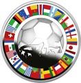 Ниуэ 2 доллара 2014.Футбол – ФИФА 2014 – Чемпионат Мира в Бразилии.