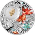 Ниуэ 1 доллар 2014.Символы счастья – Золотая рыбка.Арт.000197049063