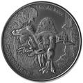 Мали 1000 франков 2015.Динозавр – Спинозавр.