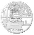 Франция 10 евро 2015.Крейсер – Кольбер (Colbert) серия Великие Корабли Франции.Арт.60