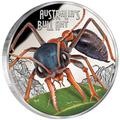 Тувалу 1 доллар 2015 Муравей Бульдог серия Смертельно Опасные (Tuvalu 1$ 2015 Deadly and Dangerous Bull Ant 1oz Silver Coin).Арт.000100050872/92