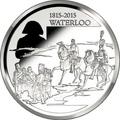 Бельгия 10 евро 2015.200 лет битвы при Ватерлоо.Арт.000100050817/60