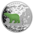 Канада 20 долларов 2015.Белый Медведь.Нефрит.Арт.000502450843/60