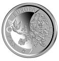 Бельгия 10 евро 2015.70 лет мира в Европе.Арт.000100050818/60