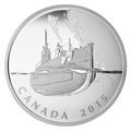 Канада 20 долларов 2015.Подводная лодка серии Канадский тыл.Арт.60
