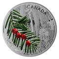 Канада 20 долларов 2015.Тисовое дерево серия Леса Канады.Арт.000407050983/60