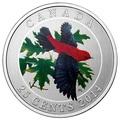 Канада 25 центов 2014.Красно-черная Пиранга.Арт.000172649444