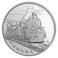 Канада 20 долларов 2015.Поезд – Трансконтинентальная железная дорога серия Канадский тыл.Арт.60