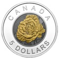 Канада 5 долларов 2014.Роза серия Цветы Канады (Ниобий).Арт.000429948269