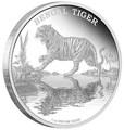 Ниуэ 2 доллара 2015.Бенгальский тигр серия Исчезающие виды.Арт.60