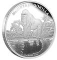 Ниуэ 2 доллара 2015.Горная горилла серия Исчезающие виды.Арт.60