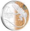 Ниуэ 2 доллара 2013.Кольчатая ящерица серия Исчезающие виды.Арт.000427544996